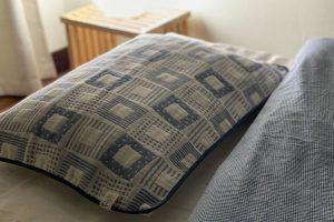 枕に載せて使うガーゼのカバー